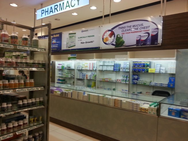 Pharmacy area, Level 1